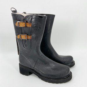ILSE JACOBSEN Waterproof Buckle Snow Rain Boot